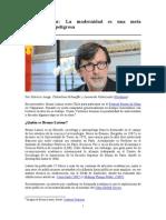 Latour, Entrevista en Chile
