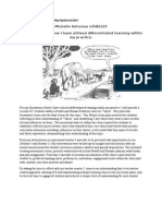 assessment 1 health sem 2 differentiation illustration