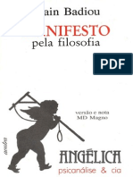 Badiou Manifesto Pela Filosofia