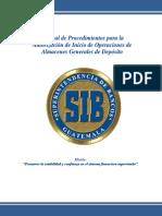 Autorizacion Ley de Almacenes