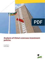 Analysis of China's overseas investment policies