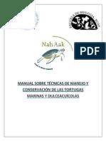 Manual Sobre Técnicas de Manejo y Conservación