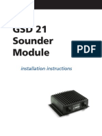 GSD21 Remote Sounder Installation Instructions