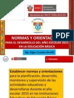 Normas y Orientaciones _8Compromisos de Gestión 2015 Ed