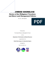 A Crowded Shoreline - Review of the Philippine Foreshore and Shore Land Management Policies