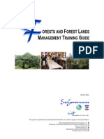 Forest and Forest Lands Management Training Guide