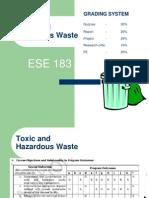 Hazardous Waste Lecture