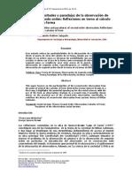 Dificultades y Paradojas de La Observación de Segundo Orden. Reflexiones en Torno Al Cálculo de La Forma.