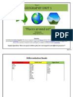 Geography Unit 1 Plan