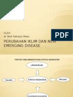 Perubahan Iklim Dan New Emerging Disease