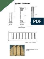 egyptian columns - vocabulary