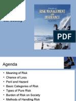 Lec 01 for risk management