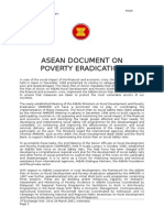ASEAN and Rural Dev With Poverty Eradcn