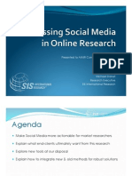 Harnessing Social Media in Online Market Research - SIS International Research
