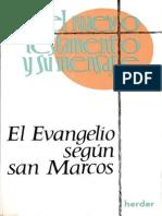 El Evangelio según San Marcos