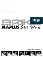 Briko Maplus Ski & Snowboard Wax Manual