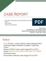 Case DC + AF + thalassemi
