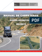 Diseño Geometrico de Carretueras (Dg-2013)
