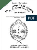 Boletín Informativo (INSTRUCTIVO DE ACCIDENTE DE TRABAJO)