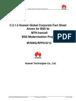 C 2.1.5 Huawei Global Corporate Fact Sheet Annex
