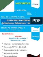 Calculo y Matematica Aplicada S6 - Ecuaciones Diferenciales (1)