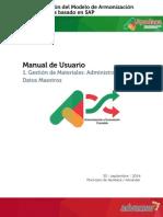 HMAPS Manual de Usuario MM Datos Maestros