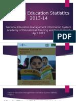 Pakistan Education Statistics 2013 14
