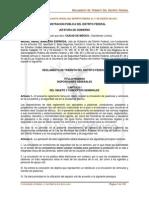 Reglamento de tránsito del Distrito Federal