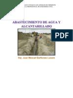 Texto de Curso de Abastecimiento de Agua y Alcantarillado