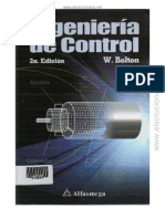 Ingeniería de Control - 2da Edición - W. Bolton