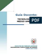 GIQ_Guia Docente Tecnologia Del Medio Ambiente_2015_FINAL