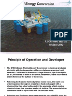 Lockheed Martin Ocean Thermal Energy Conversion