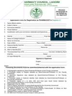 Punjab pharmacy council