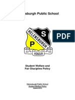 Helensburgh Public School Welfare Policy