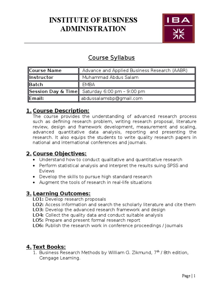 research paper course syllabus Syllabus course objectives by research paper important note: no student will receive a passing grade for this course without completing the research paper.