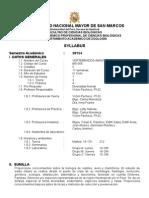 2015-1 Vert. Amniotas Prof. Victor Pacheco Plan 2003