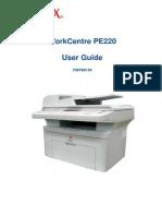 PE220 User Guide
