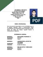 Hoja Vida Fabio Julián