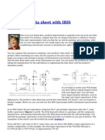 Beyond the Data Sheet With IBIS