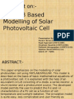 Photovolatic cell