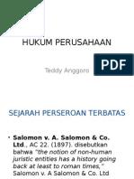 Hukum Perusahaan Teddy Anggoro
