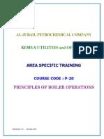 Principles of Boiler Operations