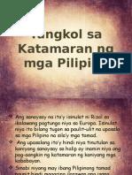 Tungkol Sa Katamaran Ng Mga Pilipino ni Jose Rizal