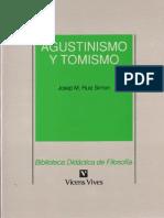 Ruiz Simon, J.M. - Agustinismo y Tomismo Ed, Vicen-Vives