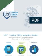 LCI Sample Report