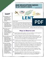 Christian Education News