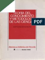 Garcia-Borron, J.C. - Teoría Del Conocimiento y Metodología de Las Ciencias Ed, Vicen-Vives