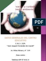 Preservacion y cuidado del medio ambiente.ppt