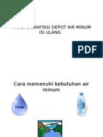 Higiene Sanitasi Depot Air Minum Isi Ulang