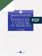 Traducción y lenguaje en Medicina